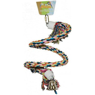 "BEAKS! 8"" Flexible Rope Boing - Critter Country Supply Ltd."
