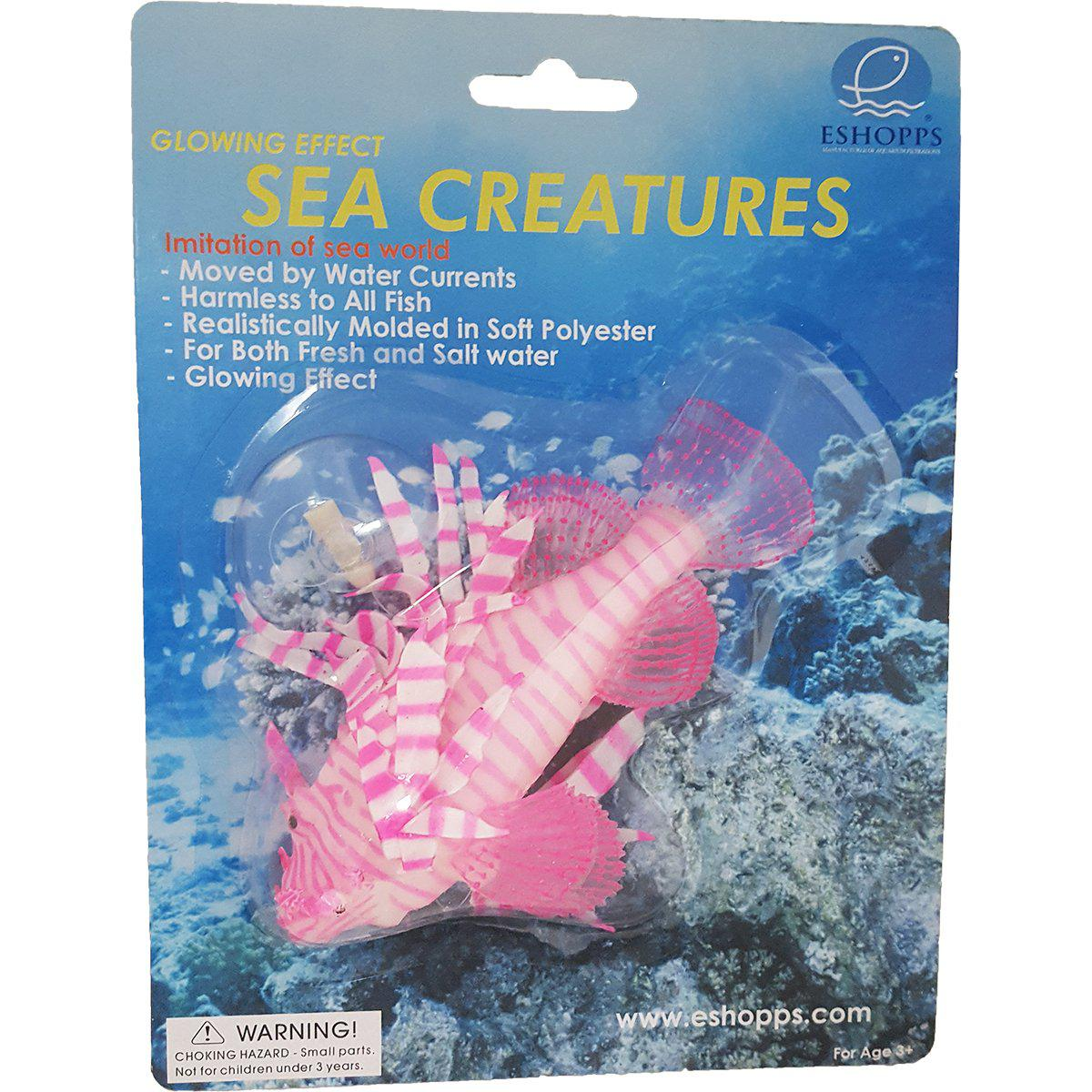 Eshopps® Glowing Effect Sea Creatures - Critter Country Supply Ltd.