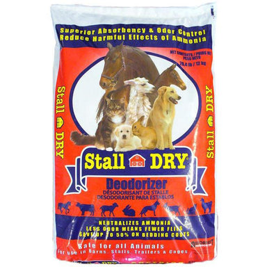 Stall DRY® Natural Ammonia Control 18.2kg Bag - Critter Country Supply Ltd.