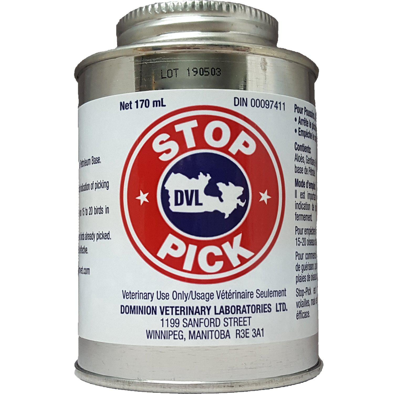 DVL Stop-Pick with Dauber 170ml - Critter Country Supply Ltd.