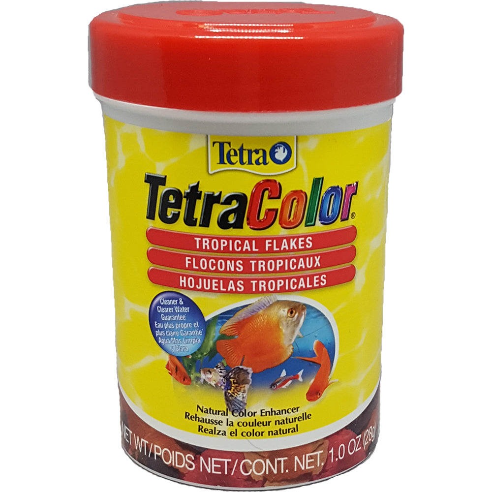 Tetra® TetraColor® Tropical Flakes | Critter Country Supply Ltd.