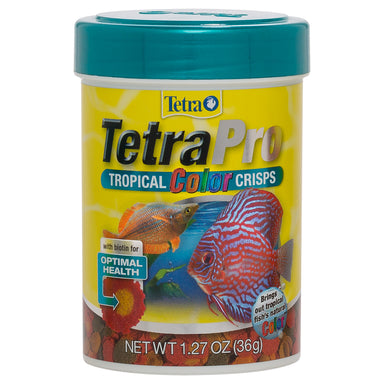TetraPro™ Tropical Color Crisps - Critter Country Supply Ltd.