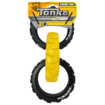 Tonka® Flex Tread 3-Ring Chew Tug - Critter Country Supply Ltd.