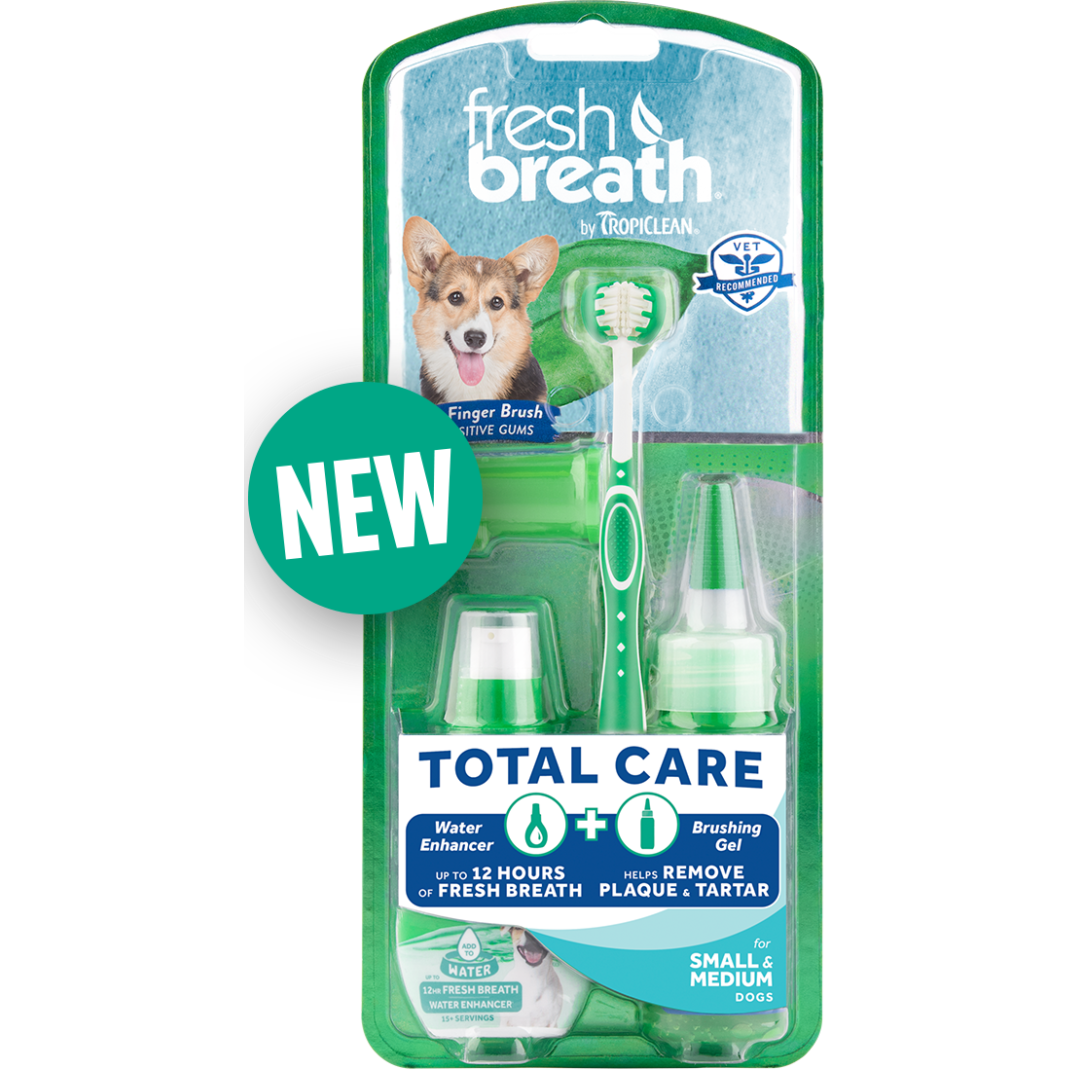 TropiClean® Fresh Breath® Total Care Kit for Small & Medium Dogs