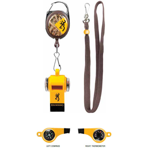 BROWNING® Training Whistle & Retractable Lanyard
