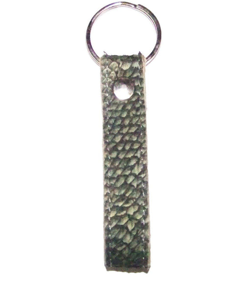 True Walleye Fish Leather Key Chain