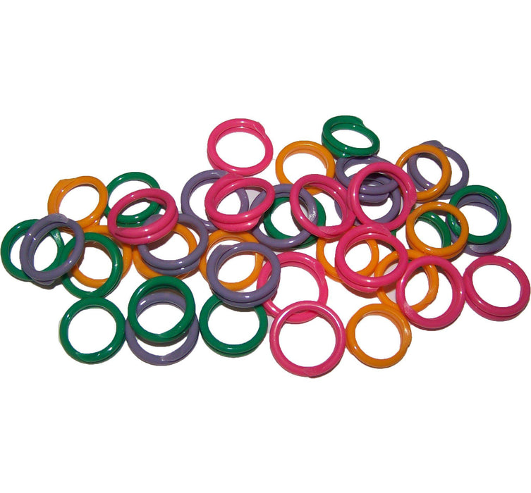Poultry Leg Bands - Spiral 10PK - Critter Country Supply Ltd.
