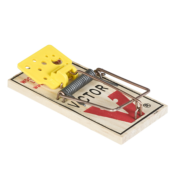 Victor® Easy Set® Mouse Traps 4PK - Critter Country Supply Ltd.