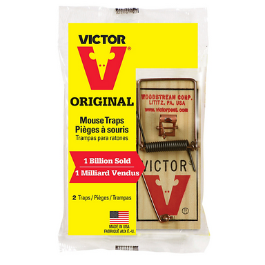 Victor® Metal Pedal Mouse Traps 2PK - Critter Country Supply Ltd.