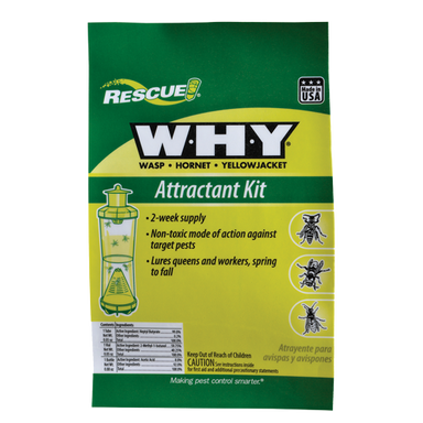 Rescue!® W·H·Y Trap Attractant Kit - Critter Country Supply Ltd.