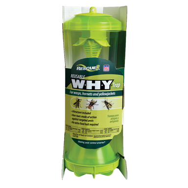 Rescue!® W·H·Y® Trap for Wasps, Hornets & Yellowjackets - Critter Country Supply Ltd.