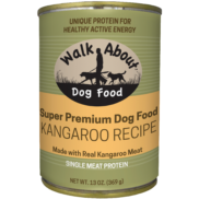 Walk About™ Kangaroo Recipe Canned Dog Food 13oz - Critter Country Supply Ltd.