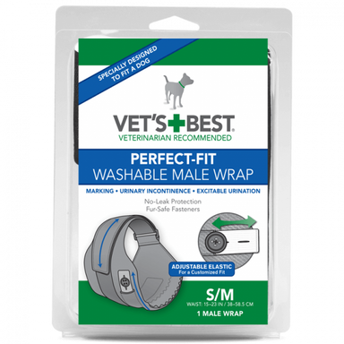 Vet's Best® Perfect-Fit Washable Male Wrap - Critter Country Supply Ltd.