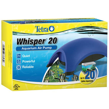 Tetra® Whisper® Aquarium Air Pump - Critter Country Supply Ltd.