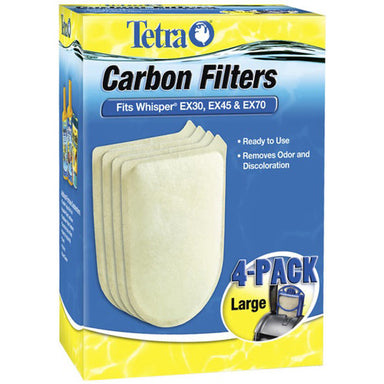 Tetra® Whisper® EX Carbon Filters 4PK - Critter Country Supply Ltd.