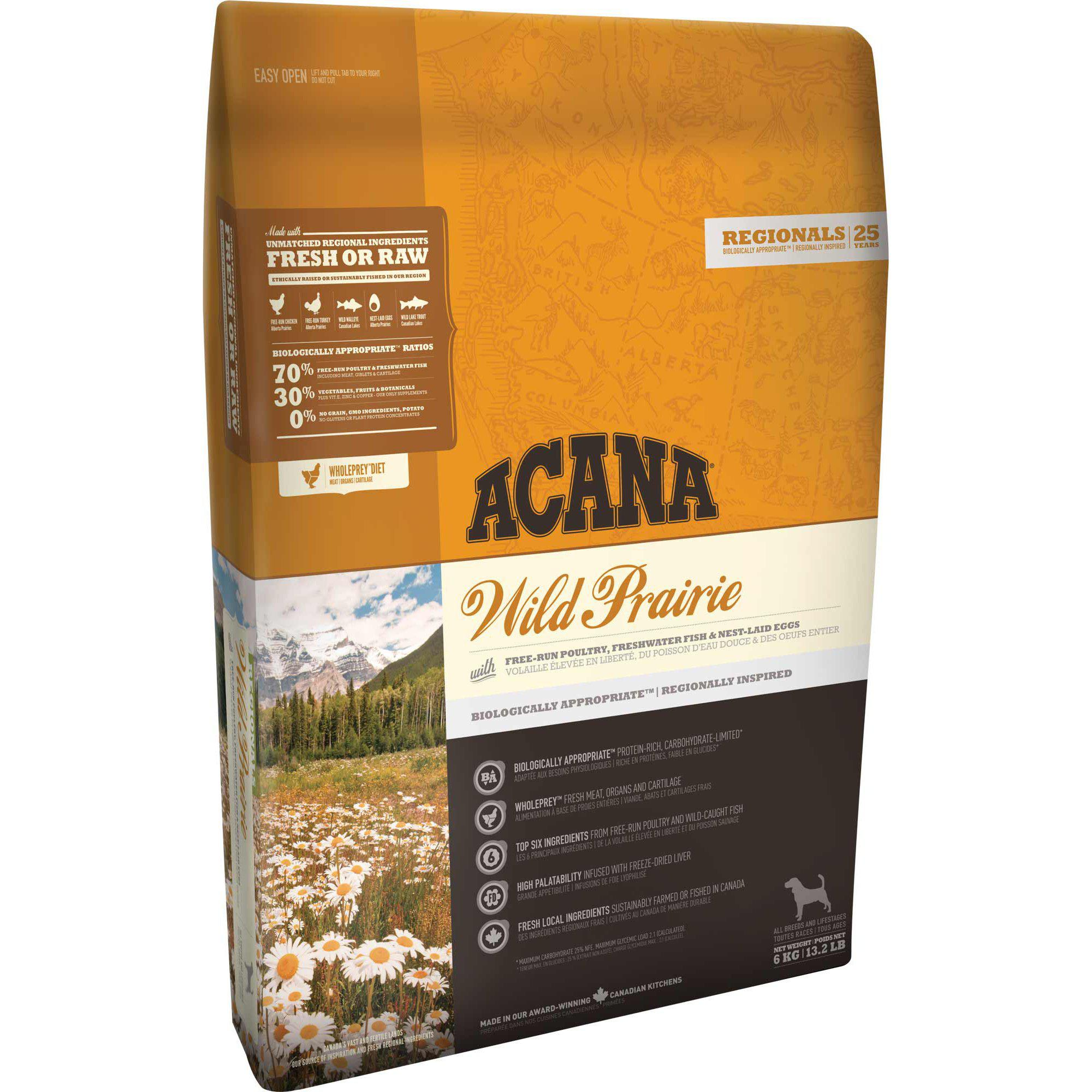 ACANA® REGIONALS Wild Prairie - Critter Country Supply Ltd.