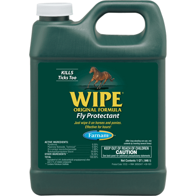 Farnam® WIPE® Liquid Wipe-On Fly Repellent 946ml - Critter Country Supply Ltd.