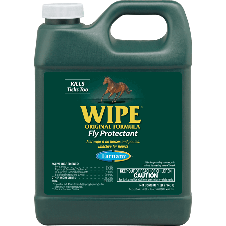 Farnam® WIPE® Liquid Wipe-On Fly Repellent 946ml