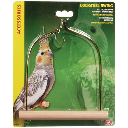 Living World® Cockatiel Swing - Critter Country Supply Ltd.