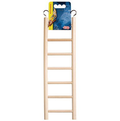 Living World® Wooden Bird Ladder (7 Steps) - Critter Country Supply Ltd.