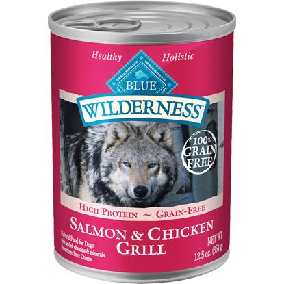 BLUE™ Wilderness® Canned Natural Wet Dog Food 12.5oz - Critter Country Supply Ltd.