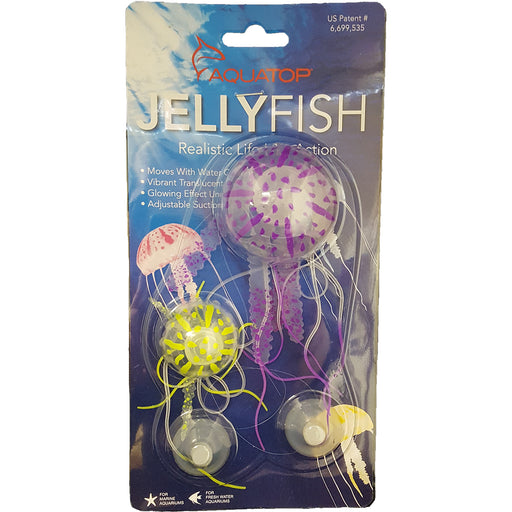Aquatop® Floating Jellyfish Decor 2PK - Critter Country Supply Ltd.