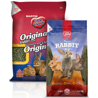MARTIN little friends™ Original Rabbit Food - Critter Country Supply Ltd.