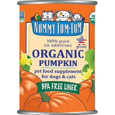 Nummy Tum-Tum™ 100% Pure Organic Pumpkin For All Your Pets - Critter Country Supply Ltd.