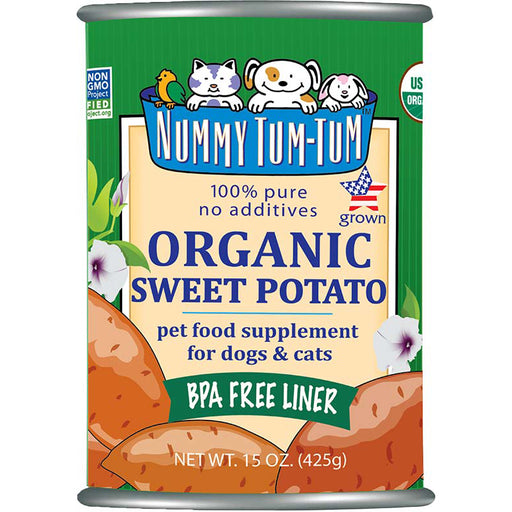 Nummy Tum-Tum™ Organic Sweet Potato Dog & Cat Food Supplement - Critter Country Supply Ltd.
