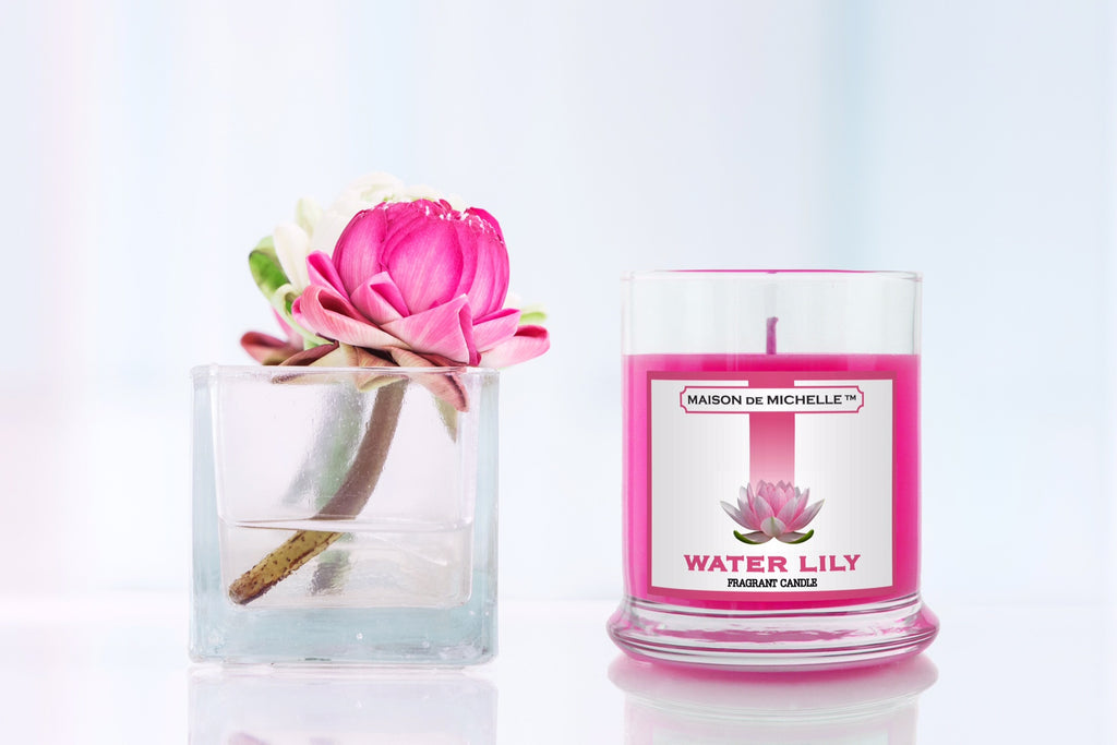 MAISON de MICHELLE Water Lily Fragrant Candle Giveaway