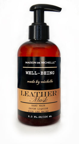 Leather Musk Luxury Hand Wash