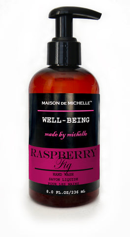 Raspberry Fig Luxury Hand Wash