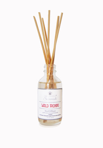 Wild Rose Oil Diffuser 2.0 fl.oz