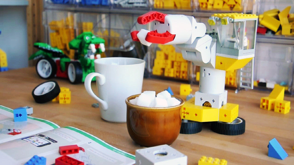 Having a coffee with Tinkerbots