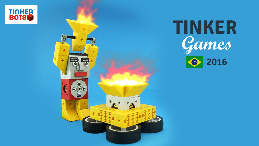 Tinkerbots robot athletes in Rio