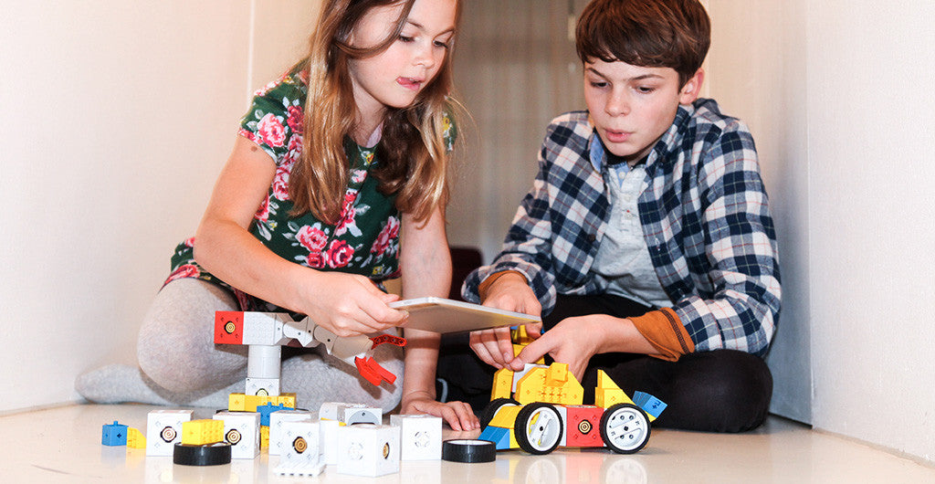 Tinkerbots as gift idea for children aged 6 years