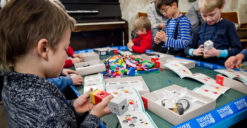 Build your own robot with our Tinkerbots building sets