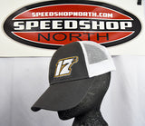 17B - Zach Benson - Charcoal Trucker Hat - Speed Shop North - 1