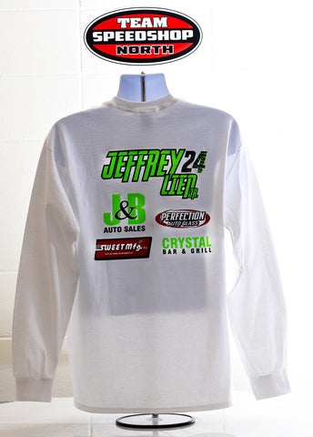Jeffrey Lien Jr. #24 Long Sleeved Tee - Speed Shop North - 2
