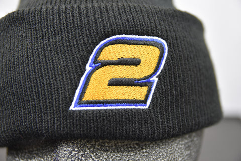 2 - Dave Mass Black Stocking Hat - Speed Shop North - 1