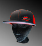 Speed Shop North - Pacific Trucker Mesh snapback - GRAPHITE/Neon Orange