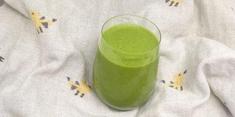 Flourish Nutrition Beautifying Green Smoothie Recipe