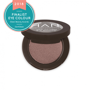 Clean Beauty Awards finalist -Han Skin Care Cosmetics Taupey Plum eye shadow
