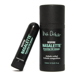 Black Chicken Remedies Nasalette Essential Oil Inhaler - Respire