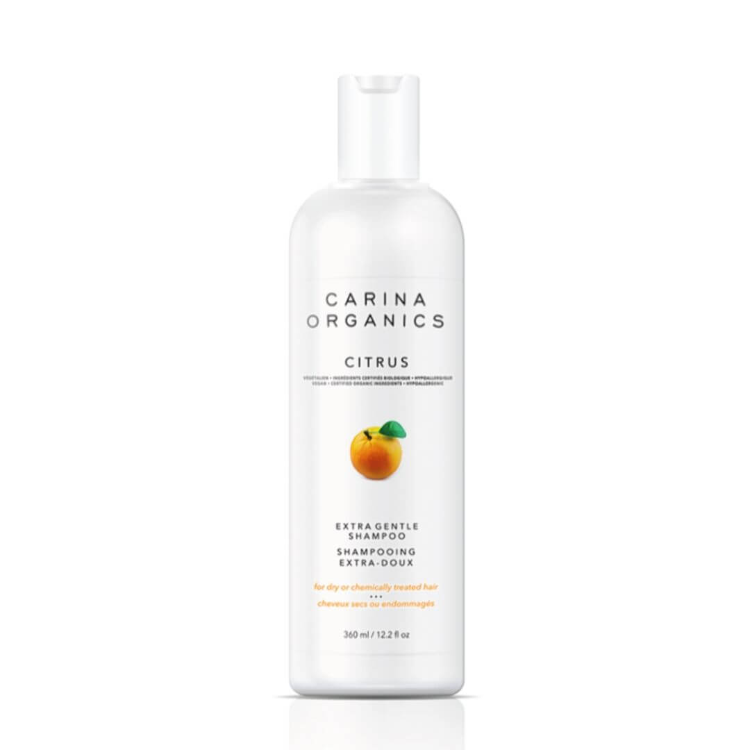 Carina Organics Citrus Extra Gentle Shampoo for color treated hair
