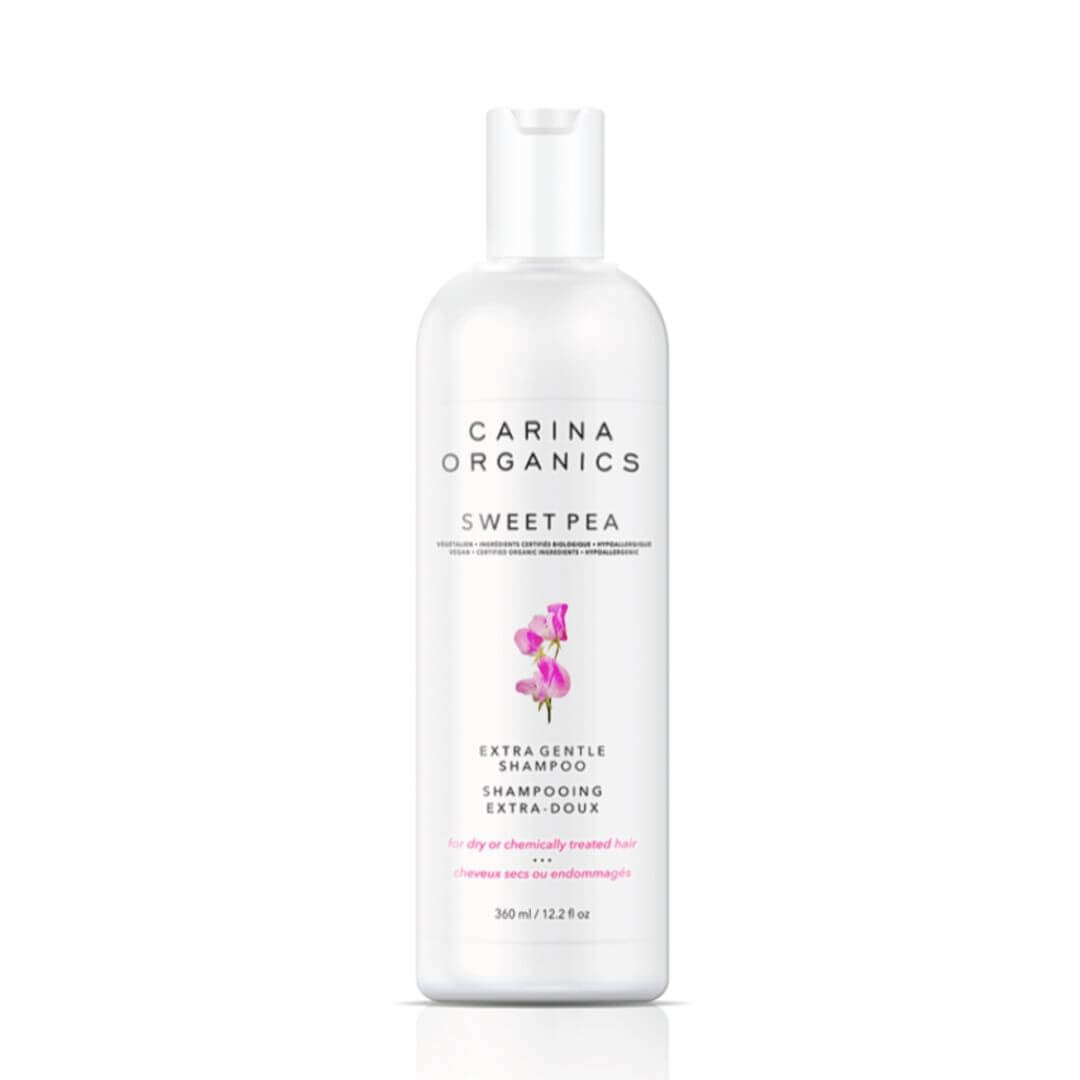 Carina Organics Sweet Pea Extra Gentle Shampoo for color treated hair