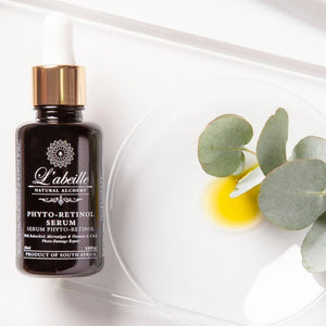 L'Abeille Natural Skincare Phyto Retinol Serum Open bottle