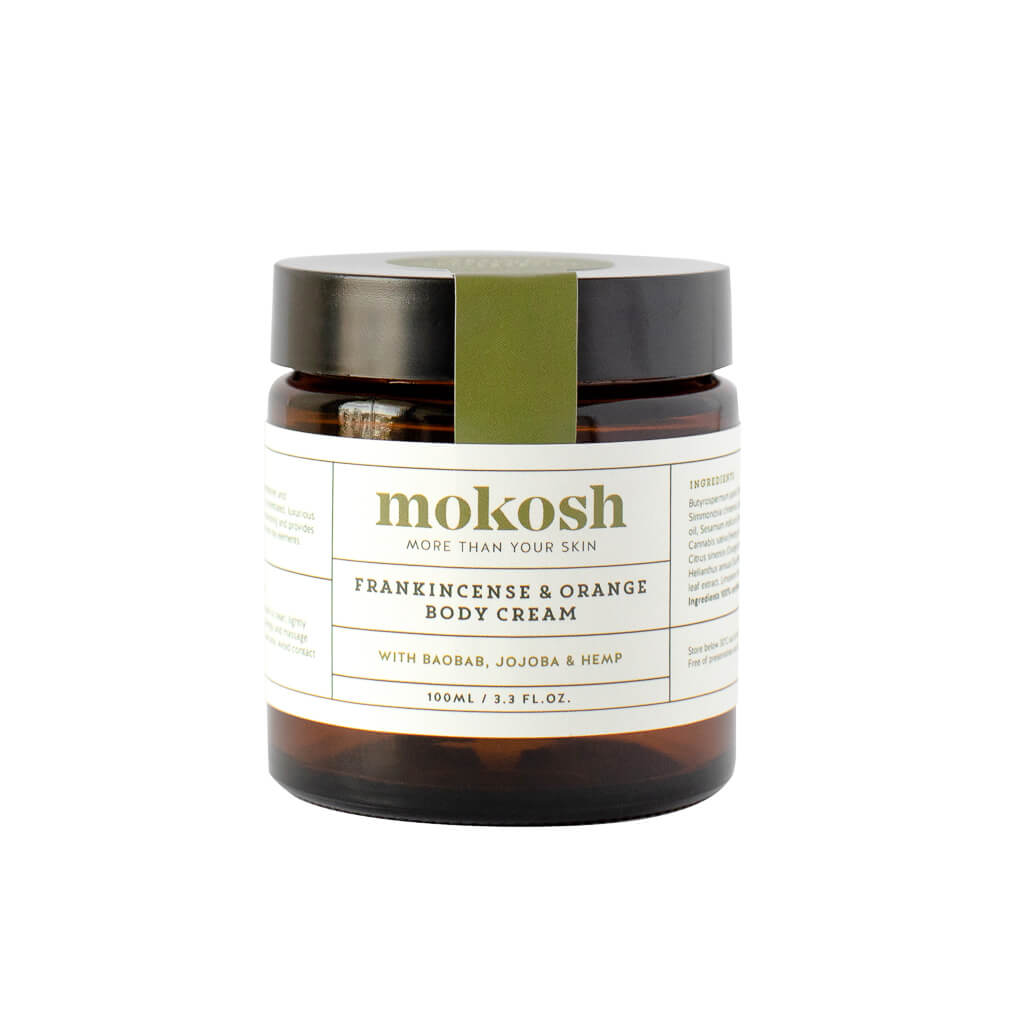 Mokosh Skincare Frankincense & Orange Body Cream