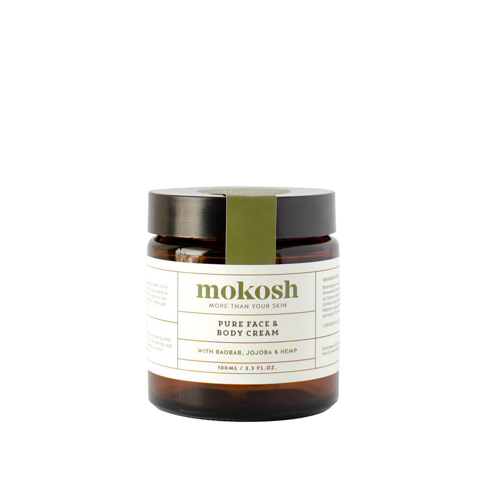 Mokosh Skincare Pure Face & Body Cream for sensitive skin