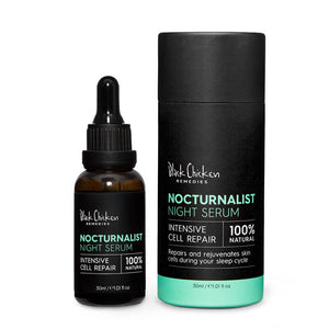 Black Chicken Remedies Nocturanalist Night Repair Serum box